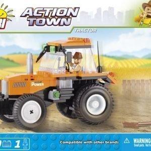 Cobi Farmitraktori 160 Palaa + 1 Figuuri