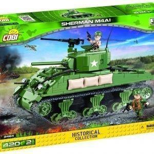 Cobi M4a1 Sherman Tank 400 Pcs
