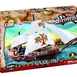 Cobi Pirates: Kuninkaan Kauppalaiva Rakennussarja 350-Osainen