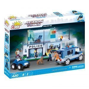 Cobi Poliisiasema Leikkisetti