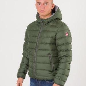 Colmar Hooded Down Jacket Ii Takki Vihreä