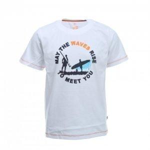 Color Kids Barney S/S Tee T-paita Valkoinen