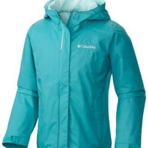 Columbia Arcadia Girl's Jacket Kevättakki Turkoosi