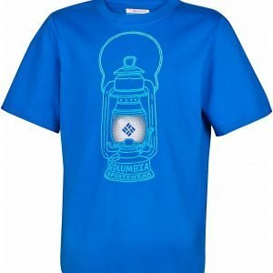 Columbia Camp Light B Tee T-Paita Sininen