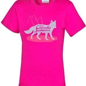 Columbia Foxtrotter Graphic Tee T-Paita Pink