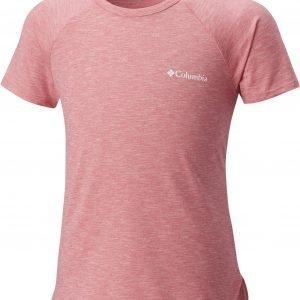 Columbia Silver Ridge Ii Short Sleeve Jr Paita Vaaleanpunainen