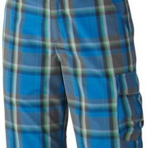 Columbia Silver Ridge Iii Boys Plaid Short Shortsit Sininen