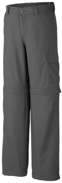 Columbia Silver Ridge Iii Jr Convertible Pant Katkolahjehousut Dark Grey
