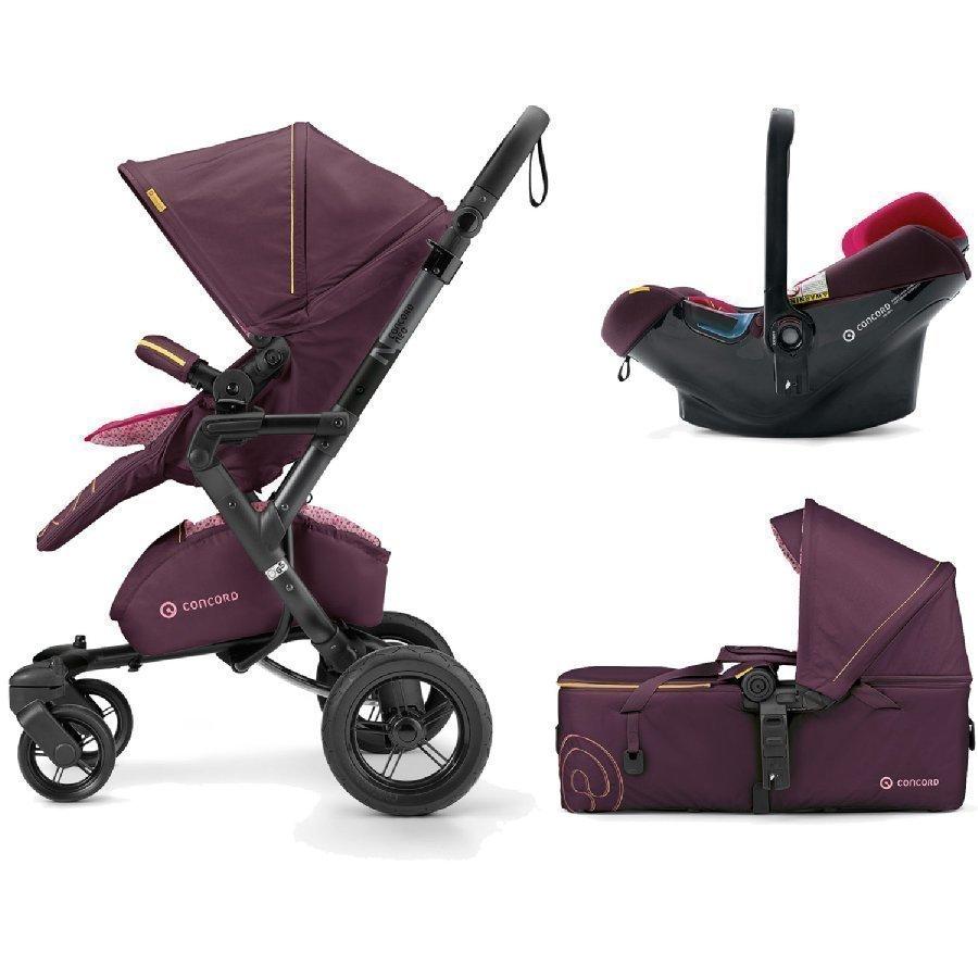 Concord Neo Mobility Set Rose Pink Lastenvaunut