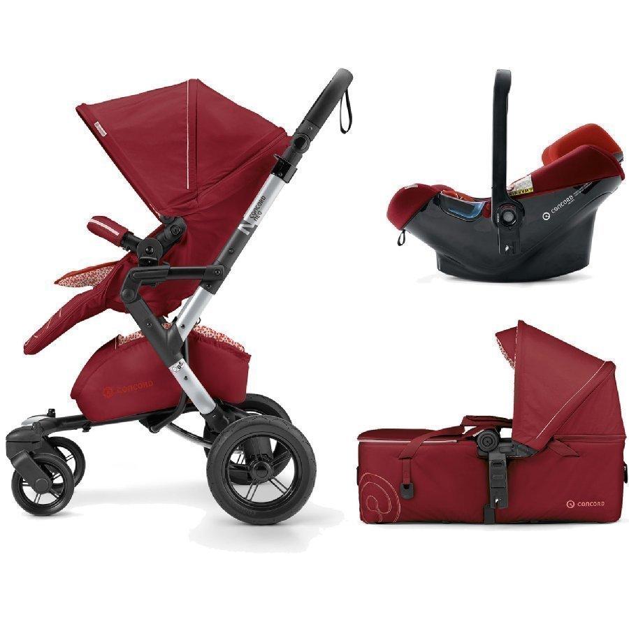 Concord Neo Mobility Set Tomato Red Lastenvaunut