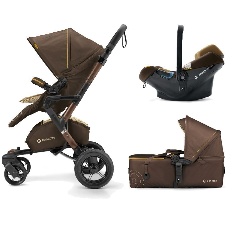 Concord Neo Mobility Set Walnut Brown Lastenvaunut