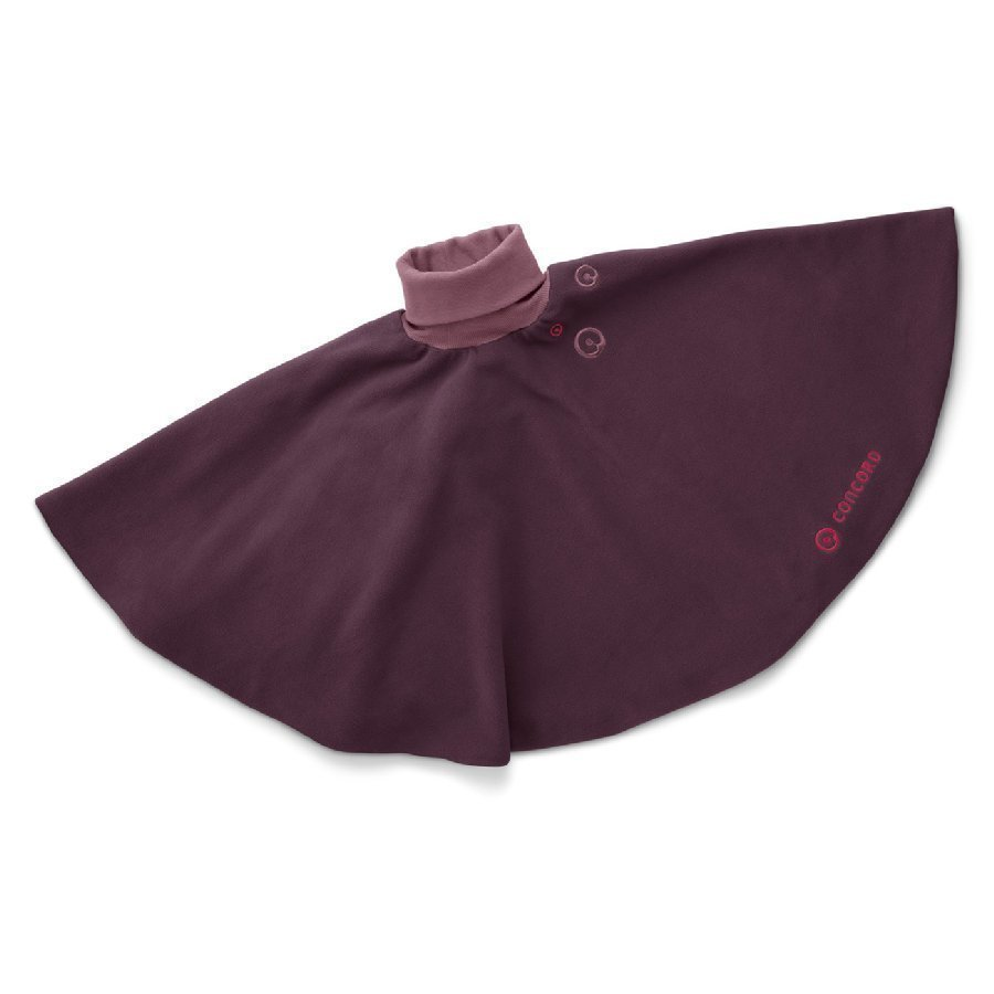 Concord Poncho Raspberry Pink