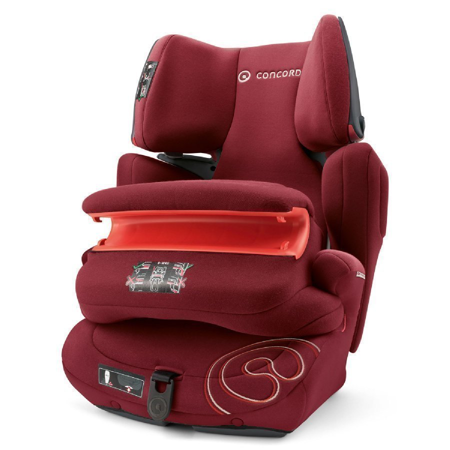 Concord Transformer Pro 2016 Bordeaux Red Turvaistuin