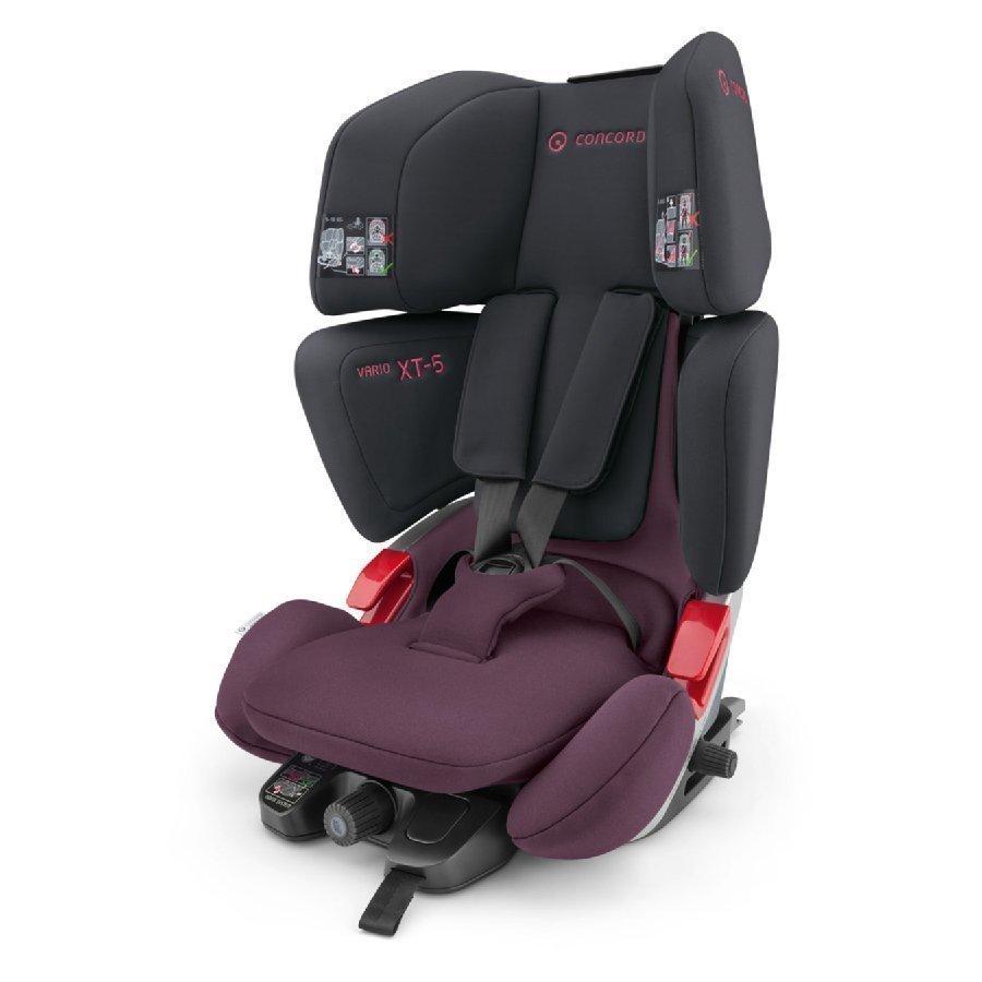 Concord Vario Xt 5 Black Pink Black Edition Turvaistuin