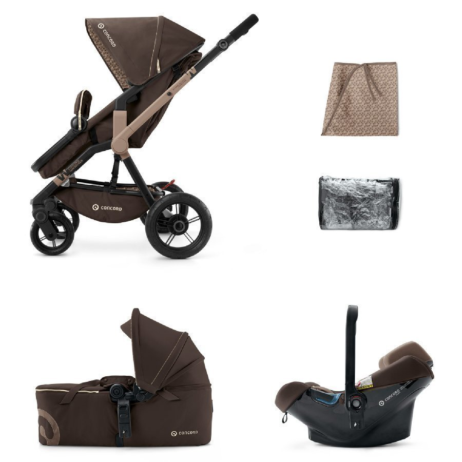 Concord Wanderer Mobility Set Chocolate Brown