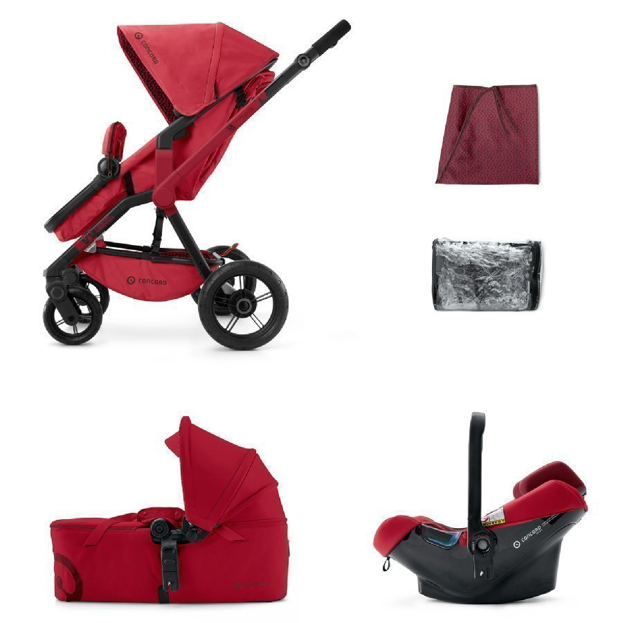 Concord Wanderer Mobility Set Ruby Red