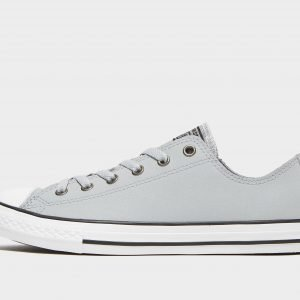 Converse All Star Ox Leather Harmaa