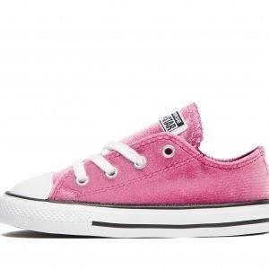Converse All Star Ox Velvet Vaaleanpunainen