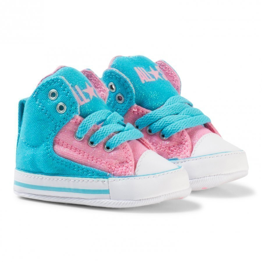 Converse Blue And Pink Chuck Taylor All Star First Star High Street Hi Tops Lenkkarit