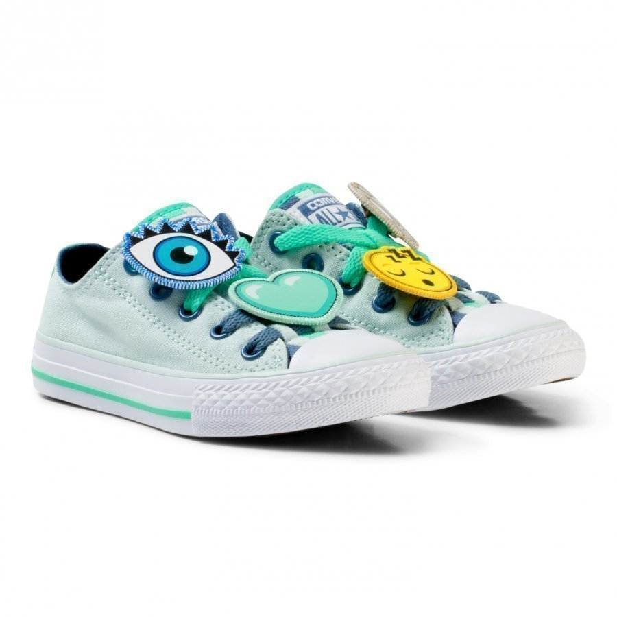 Converse Blue Chuck Taylor All Star Emoji Energy Loophole Trainers Lenkkarit
