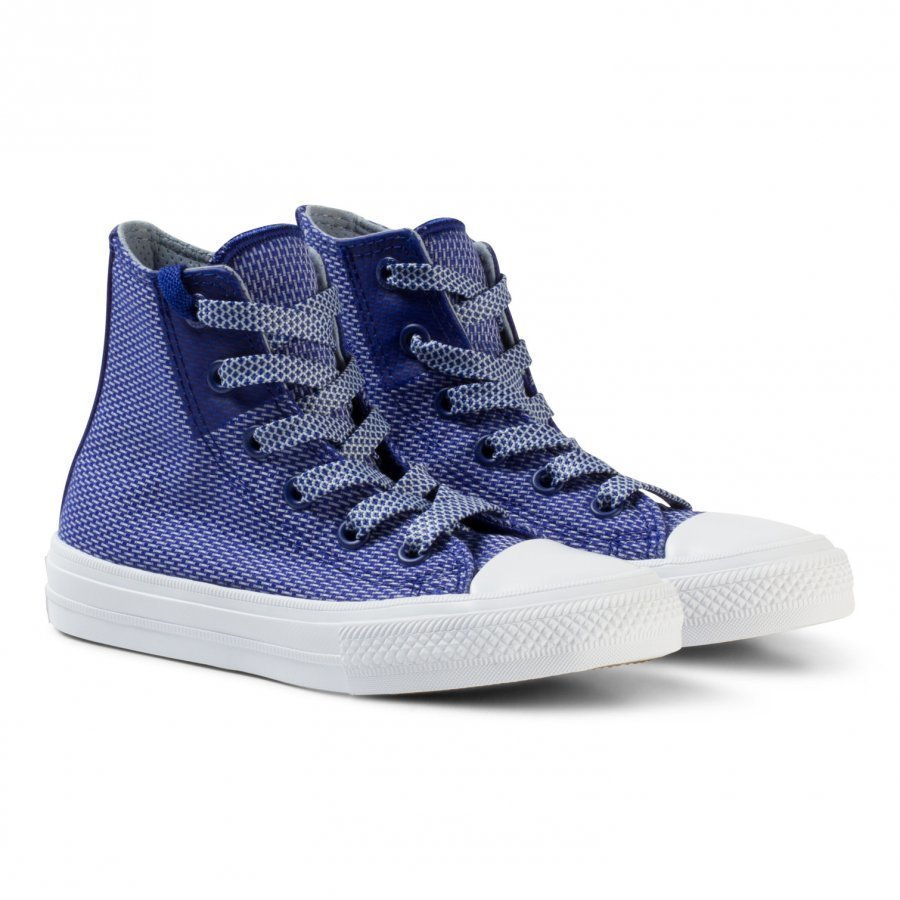 Converse Blue Chuck Taylor All Star Ii Junior Hi Tops Lenkkarit