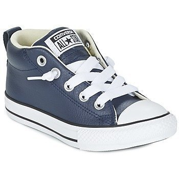 Converse CHUCK TAYLOR ALL STAR STREET CUIR MID korkeavartiset kengät