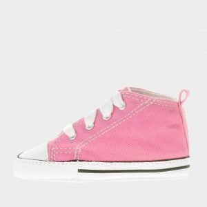 Converse First Star Crib Vaaleanpunainen