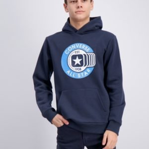 Converse Graphic Pull Over Huppari Sininen