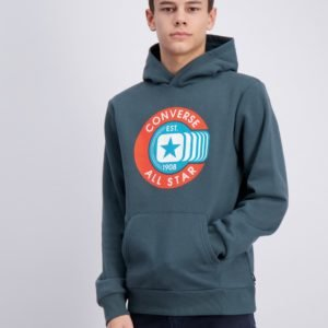 Converse Graphic Pull Over Huppari Vihreä