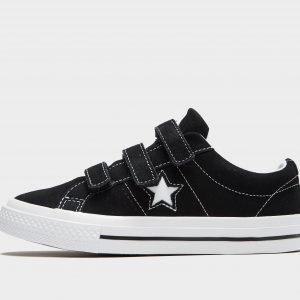 Converse One Star 3v Musta