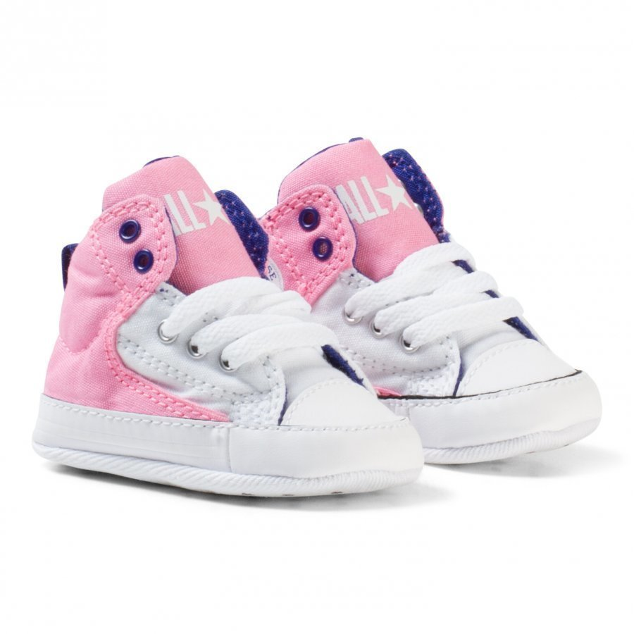 Converse Pink Chuck Taylor All Star First Star High Street Hi Tops Lenkkarit