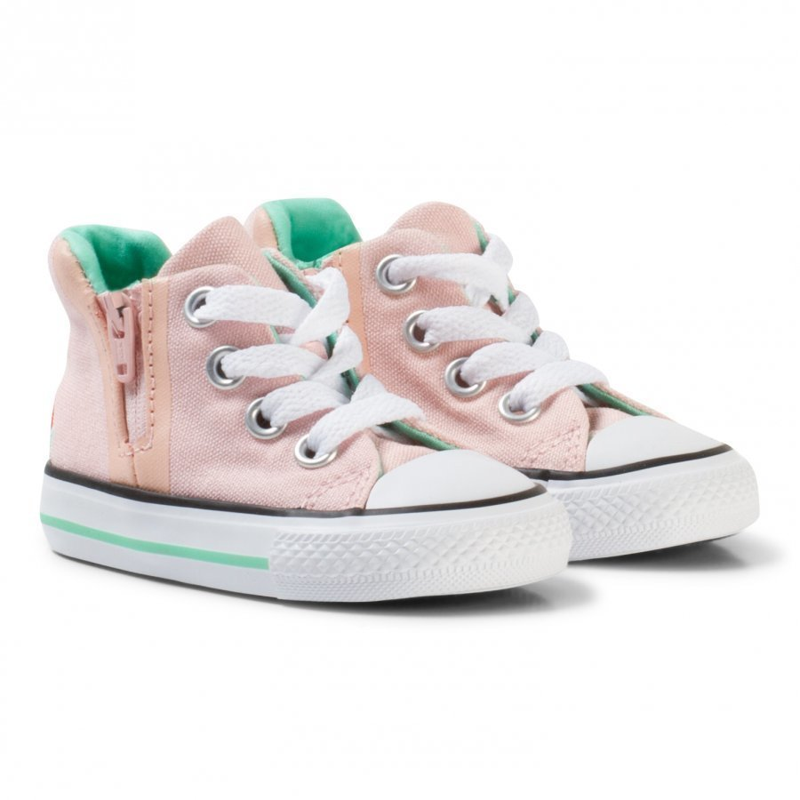 Converse Pink Watermelon Chuck Taylor Hi Tops Korkeavartiset Kengät