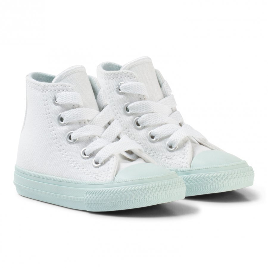 Converse White Chuck Ii All Star Hi Top With Mint Sole Korkeavartiset Kengät