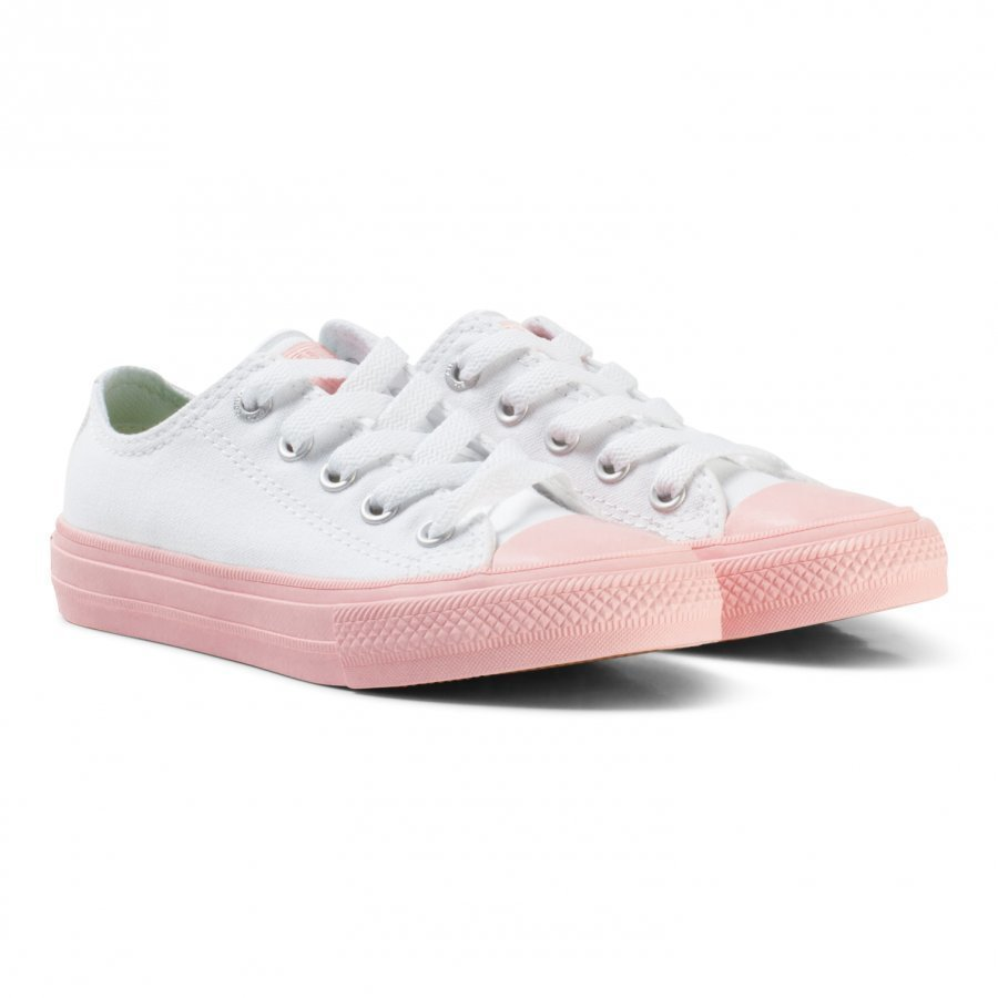 Converse White Chuck Ii All Star With Pink Sole Lenkkarit