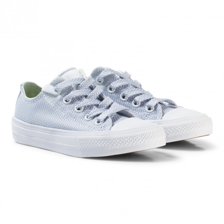 Converse White Chuck Taylor All Star Ii Junior Velcro Trainers Lenkkarit