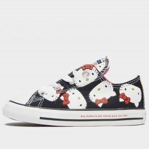 Converse X Hello Kitty All Star Ox Musta