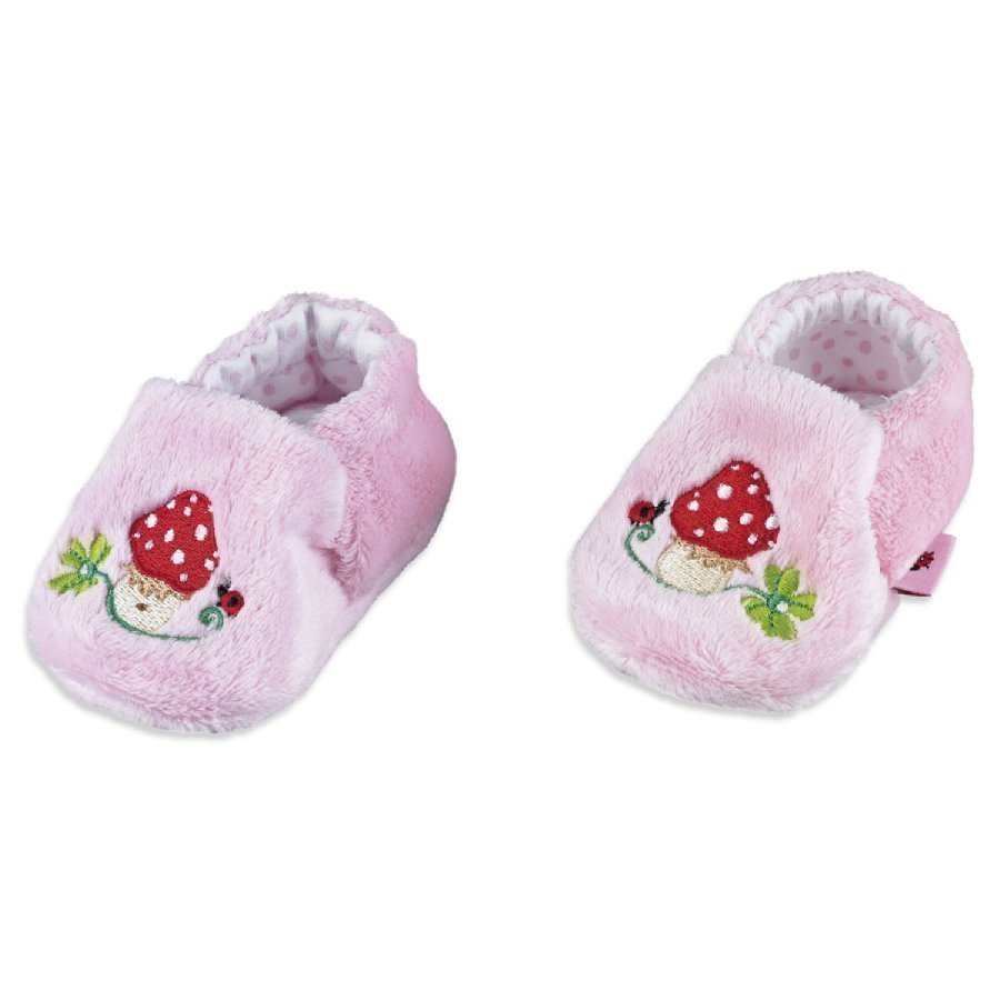 Coppenrath Vauvan Töppöset Babyglück Vaaleanpunainen