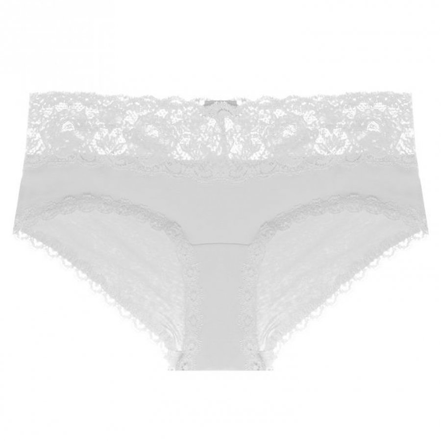 Cosabella Maternity Never Say Never Maternity Hotpant White Alushousut Äidille