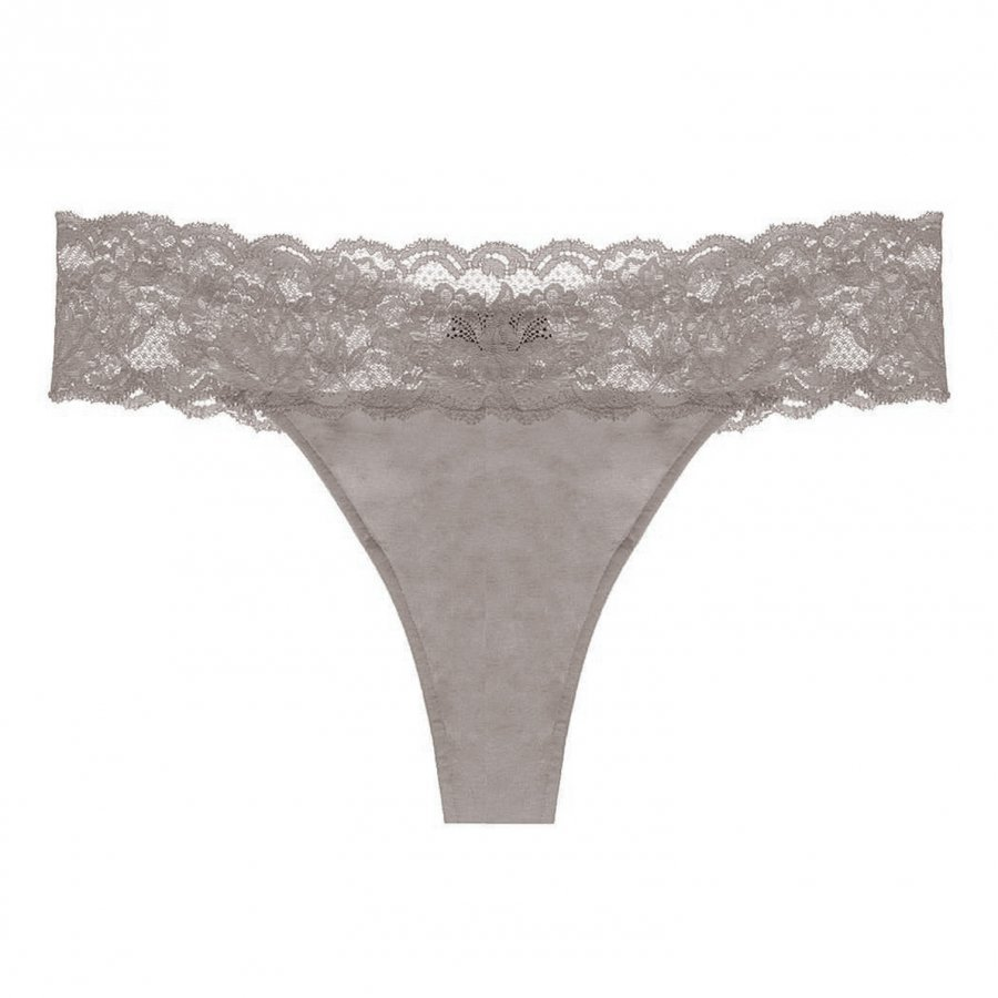 Cosabella Maternity Never Say Never Maternity Thong Shadow Alushousut Äidille