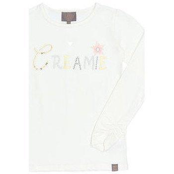 Creamie paita t-paidat pitkillä hihoilla
