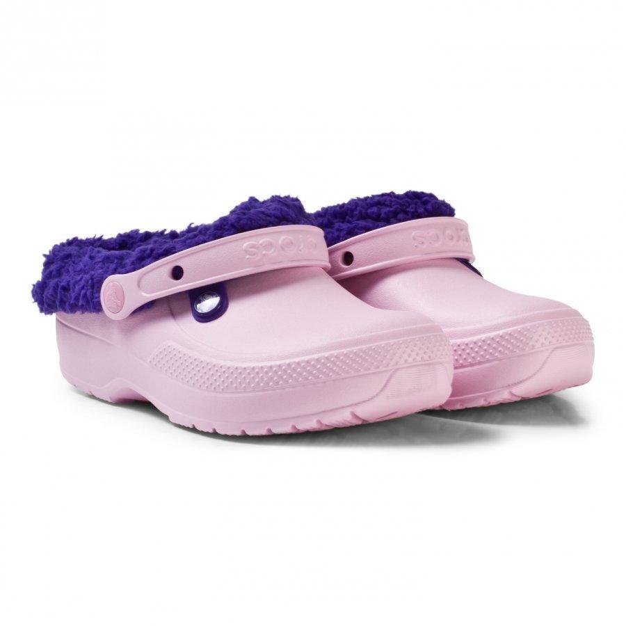 Crocs Blitzen Clog Candy Pink Slip On Sandaalit