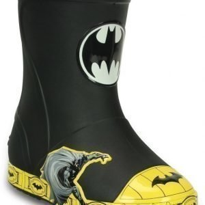 Crocs Bump It Batman Boots Black