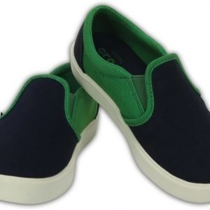 Crocs Citilane Slip-On Tennarit Navy/Kelly Green