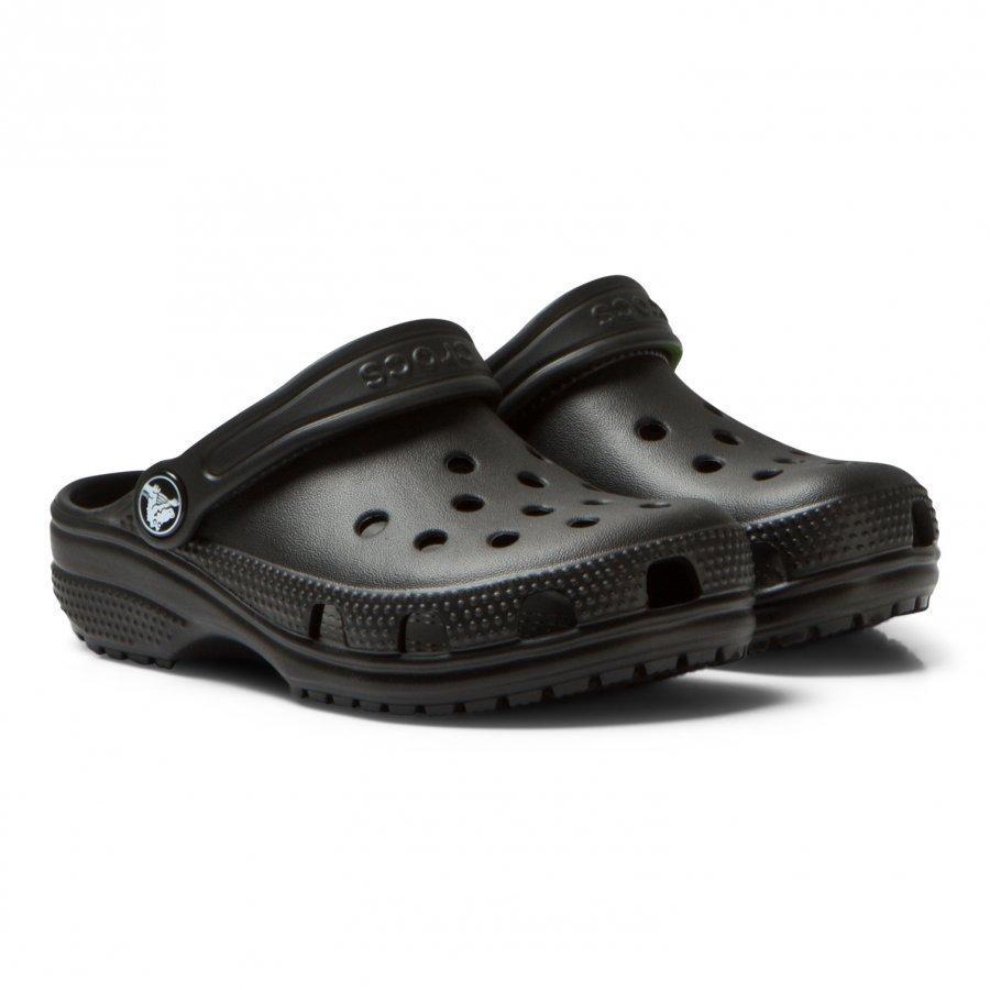 Crocs Classic Clog Black Remmisandaalit