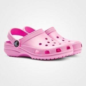 Crocs Classic Kids Carnation Pinkit Slip On Kengät