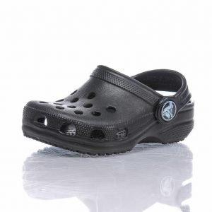 Crocs Classic Kids Clog Sandaalit Musta