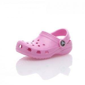 Crocs Classic Kids Clog Sandaalit Roosa