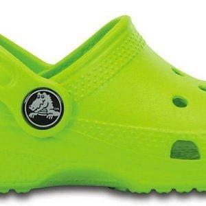 Crocs Classic Kids Sandaalit Vaaleanvihreä