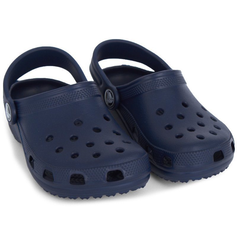 Crocs Classic Slippers Kids Navy Slip On Sandaalit