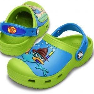 Crocs Creative Crocs Phineas & Ferb Sandaalit Vaaleanvihreä